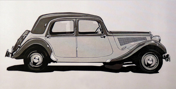 1939 Citroen Illustration
