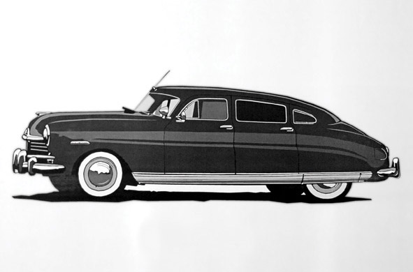 1948 Hudson Illustration