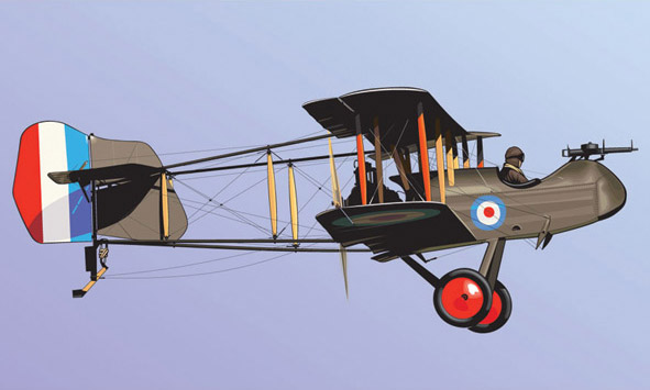 De Havilland Airco DH-2 Illustration
