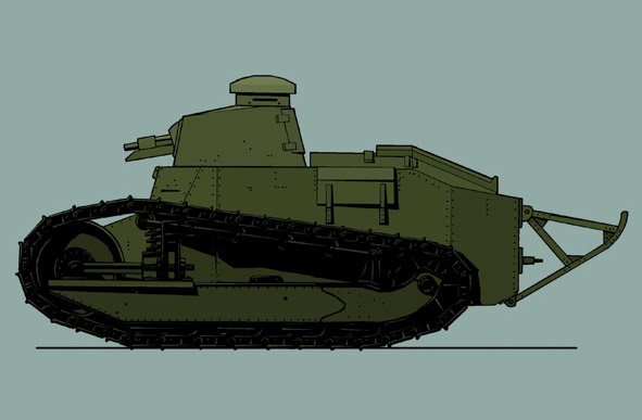Renault M17 Illustration