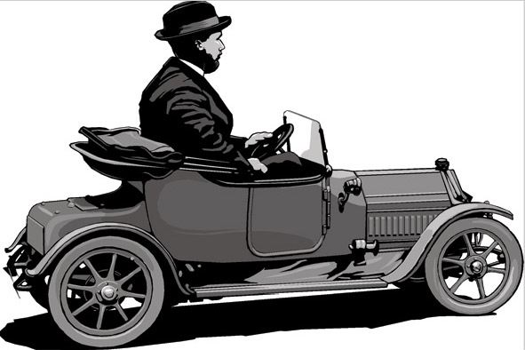 Toy Car Illustration